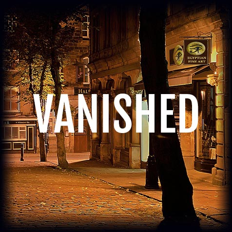 Vanished Escape Room Poster